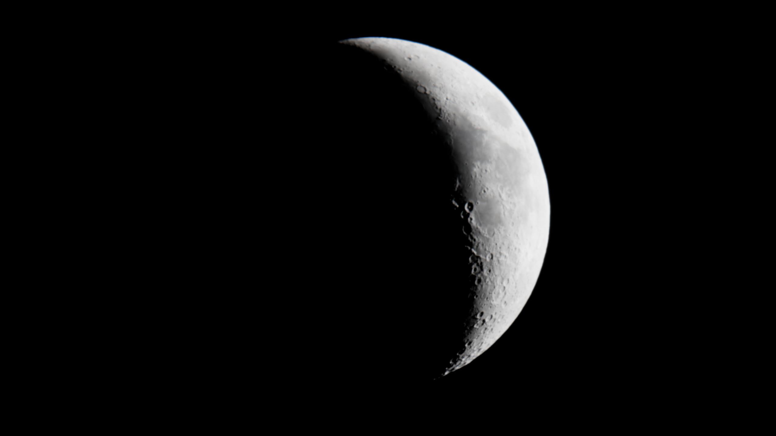 Croissant de lune 20200510