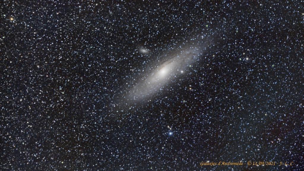 Andromède en deux séances M31_2013