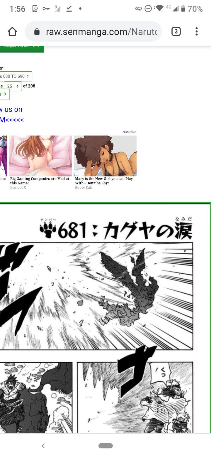 Provando que Sakura e Tsunade são as mais fortes fisicamente falando. Screen42
