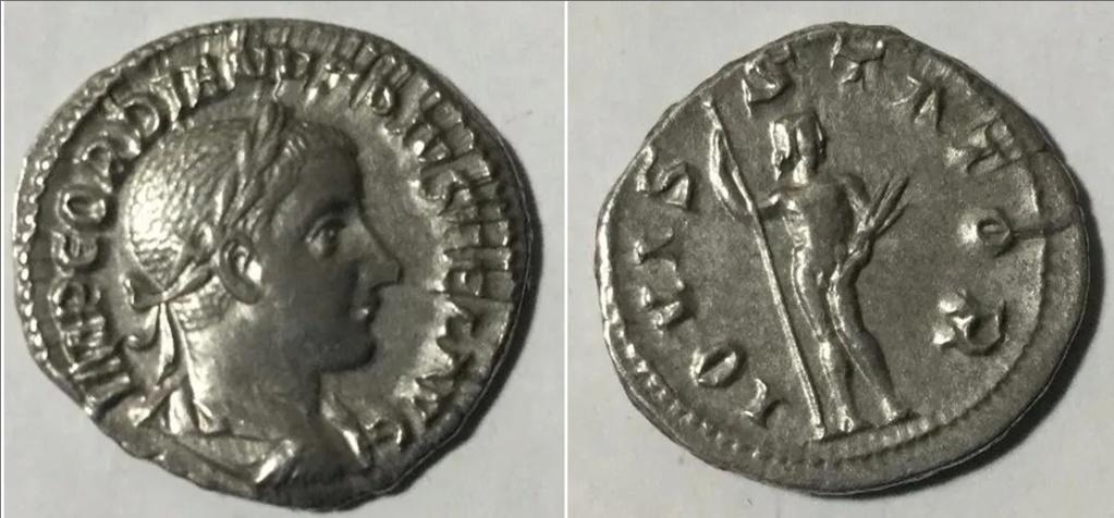 Denario de Gordiano III. IOVIS STATOR. Júpiter a dch. Roma Gordia10