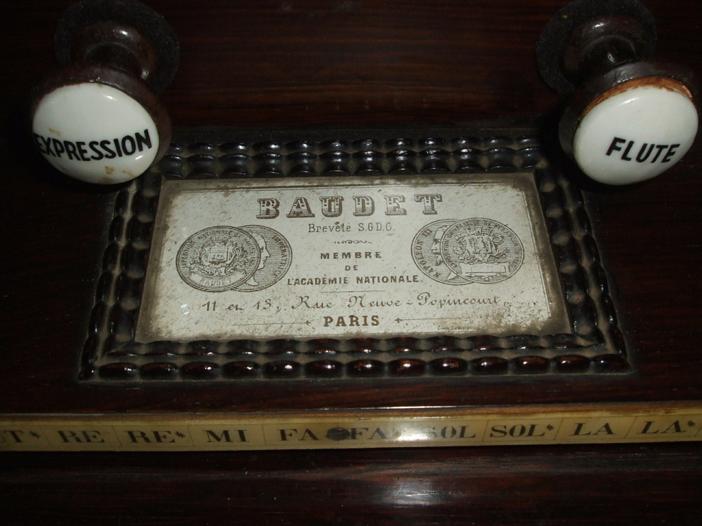 BAUDET harmonium a vendre Baudet10