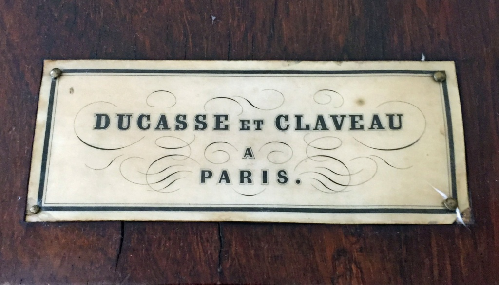 harmonium Ducasse et Claveau, Paris Ducass10
