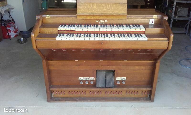 KASRIEL double clavier et pédalier en leboncoin Kasrie10