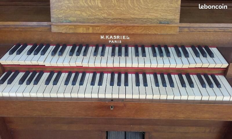 KASRIEL double clavier et pédalier en leboncoin Kasrie11