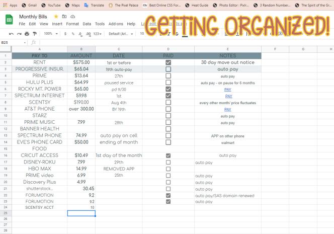 Who's Organized?? Google10