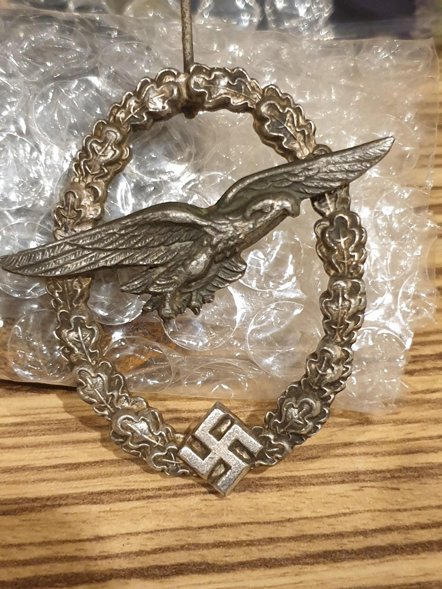 Medaille allemande bonne ou pas ?  16161914