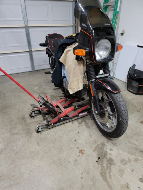 Need direction on k75 fork height 20210311