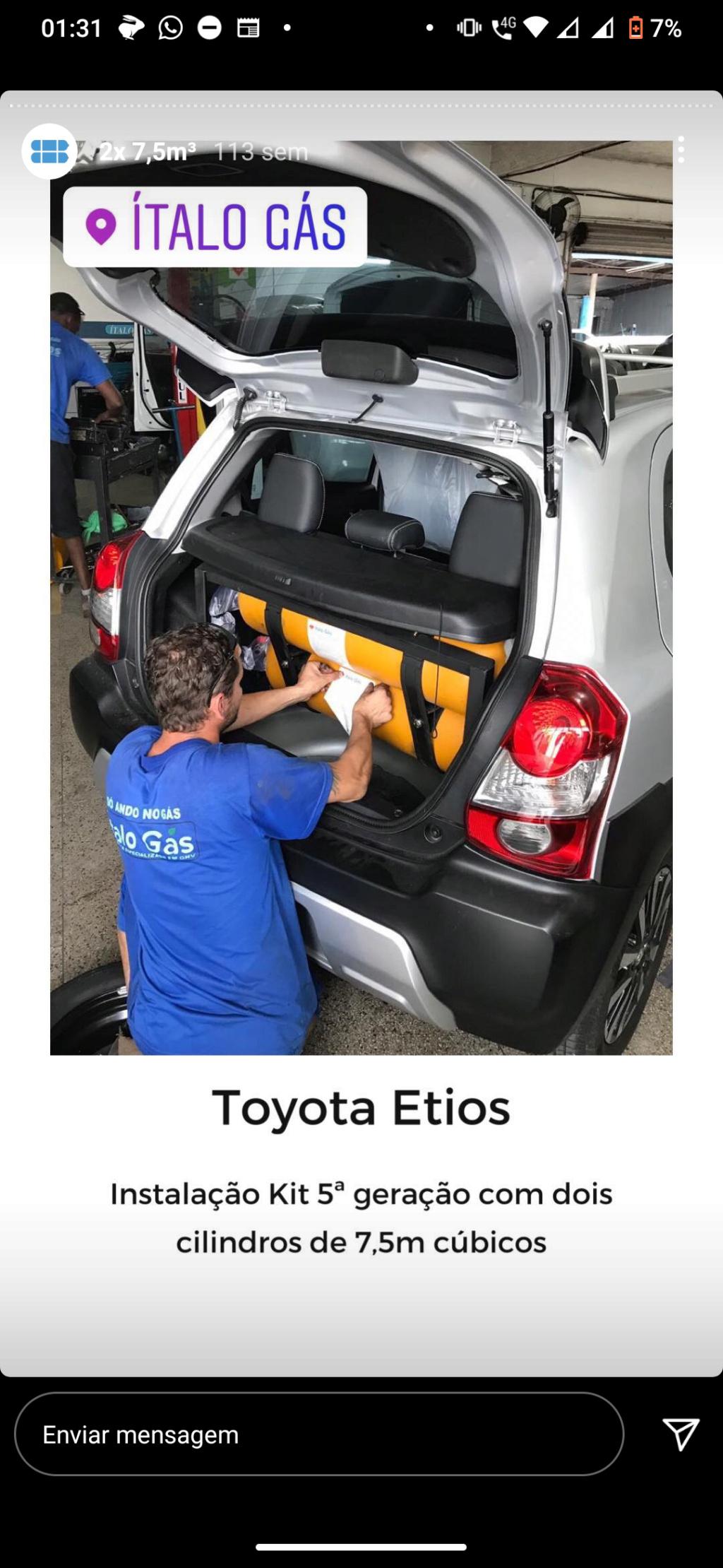 GNV no Etios, minha experiência...  - Página 2 Screen12
