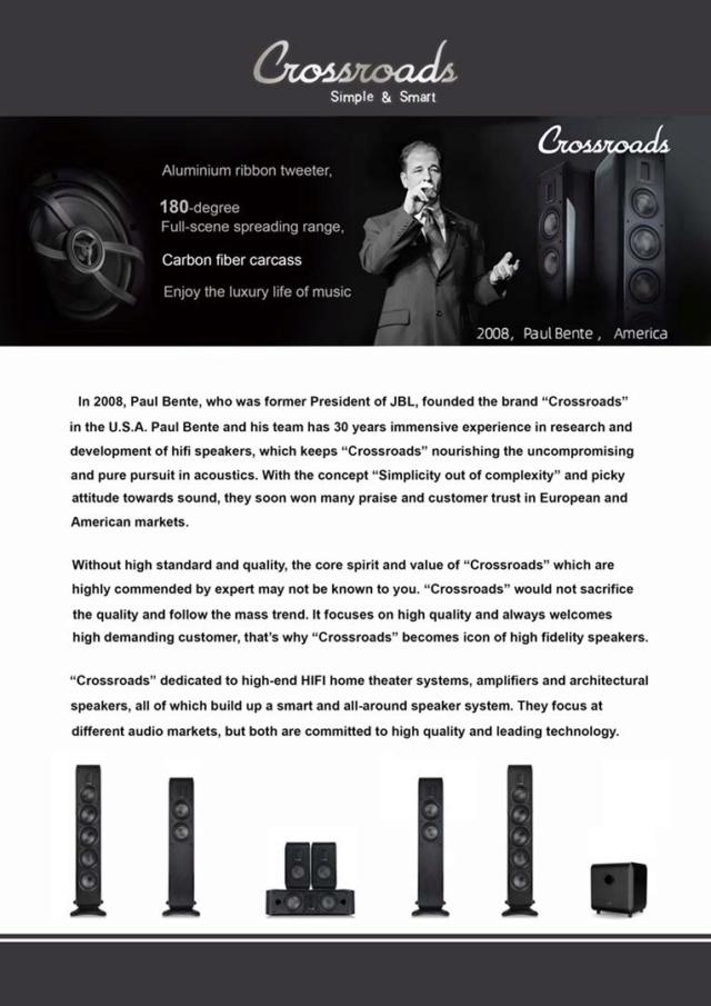 Crossroads ET345 Speakers Floorstanders Img-2013
