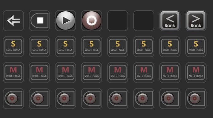 Mackie Control Screen16