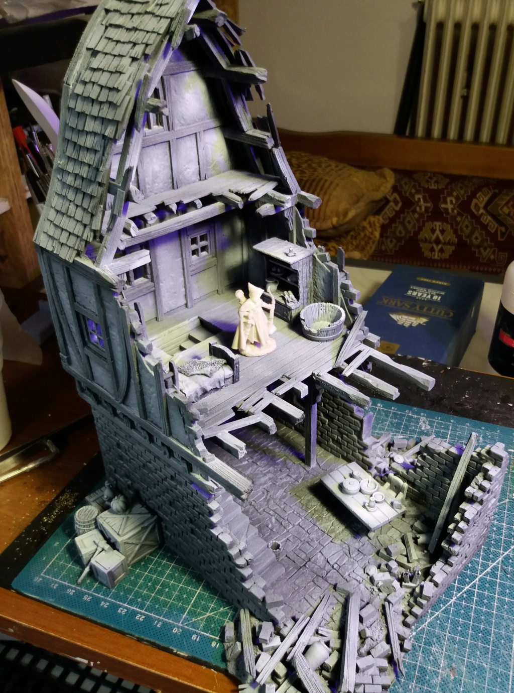 My project on Mordheim Table.  11a10
