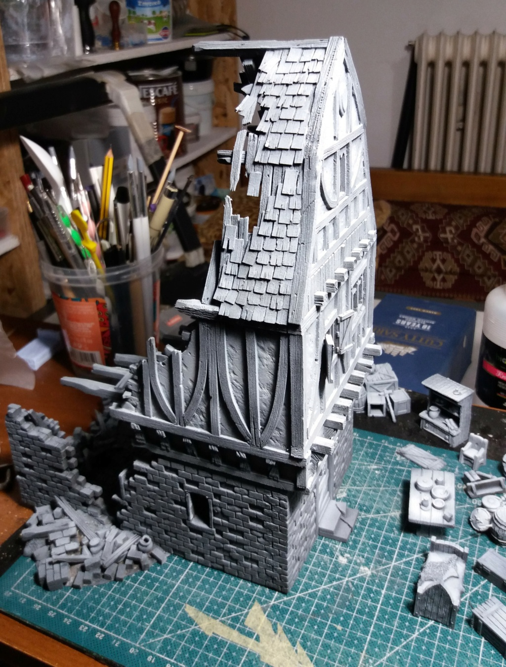 My project on Mordheim Table.  14a10