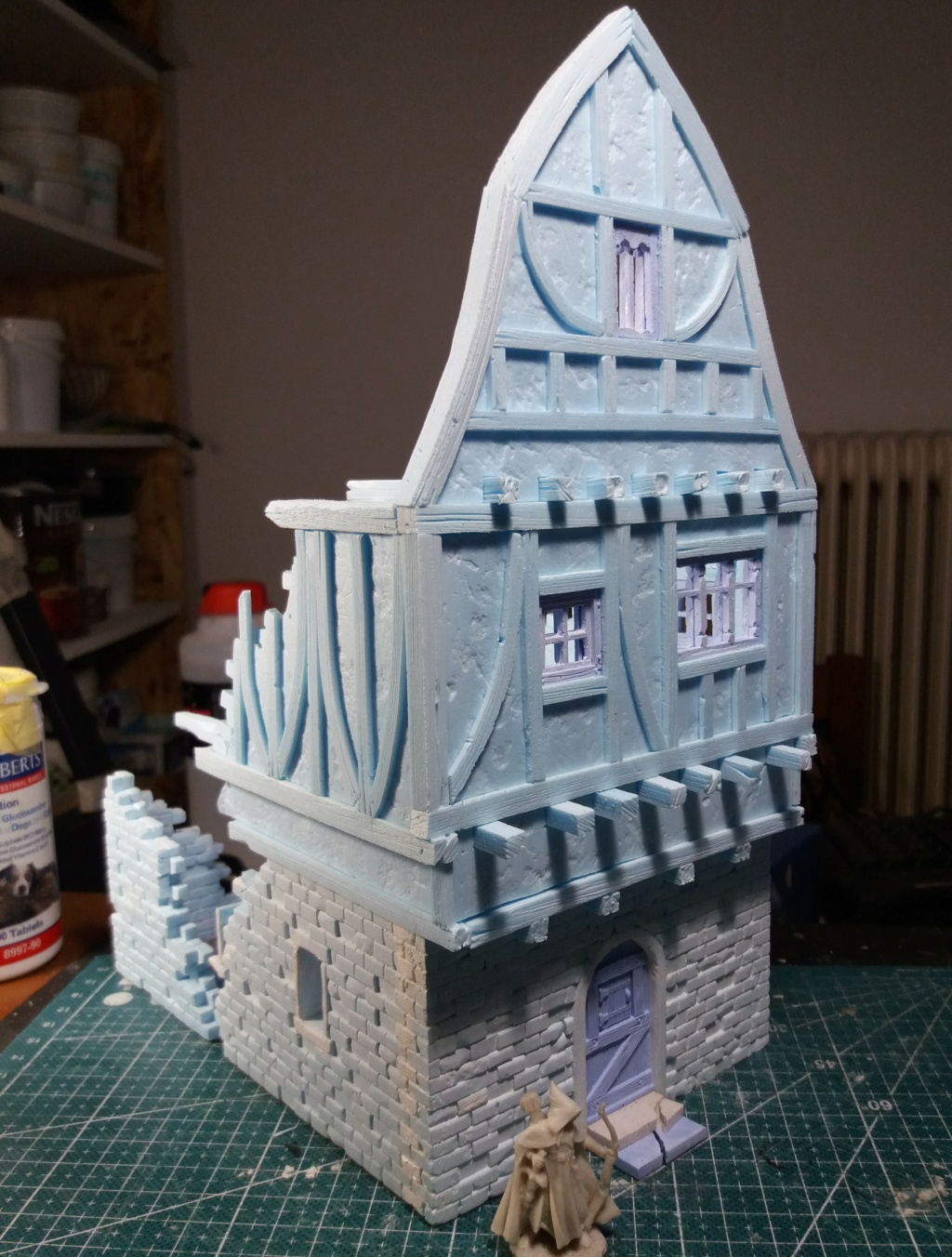 My project on Mordheim Table.  1a10