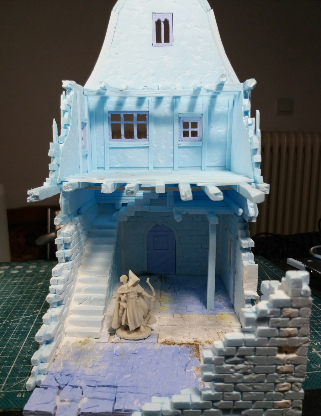 My project on Mordheim Table.  3a10
