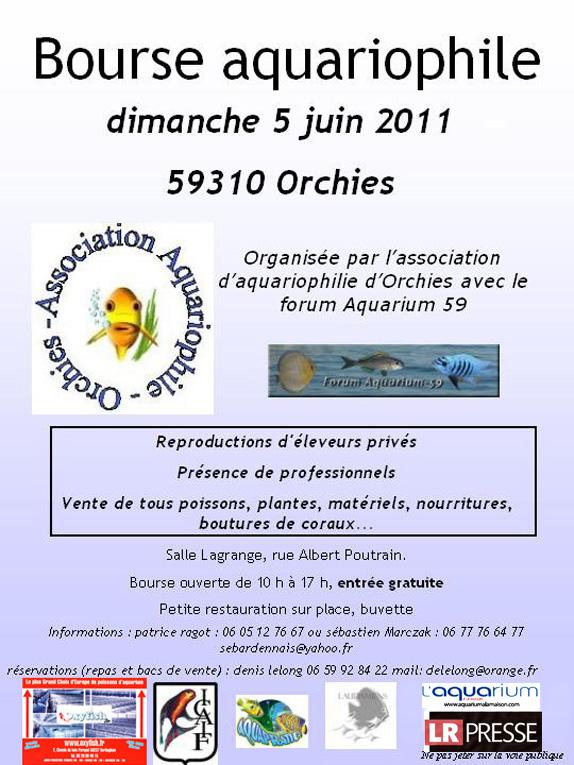 Bourse dans le Nord (Orchies) le 5 juin 2011  Affich10