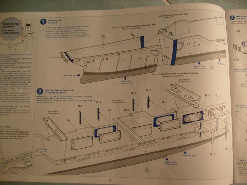 porte avions Enterprise par Dan au 1/350 eme - Tamiya S7301148