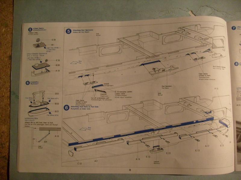 porte avions Enterprise par Dan au 1/350 eme - Tamiya S7301150