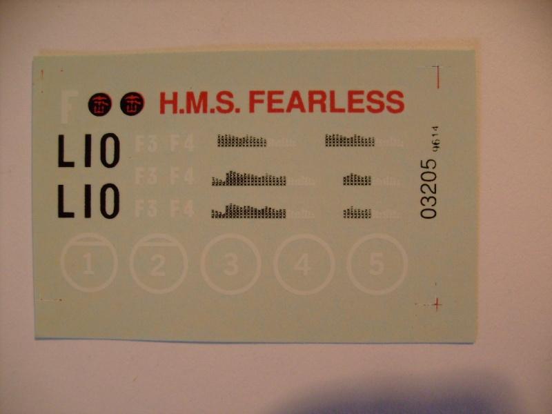 HMS Fearless au 1/600 eme - Airfix S7302838