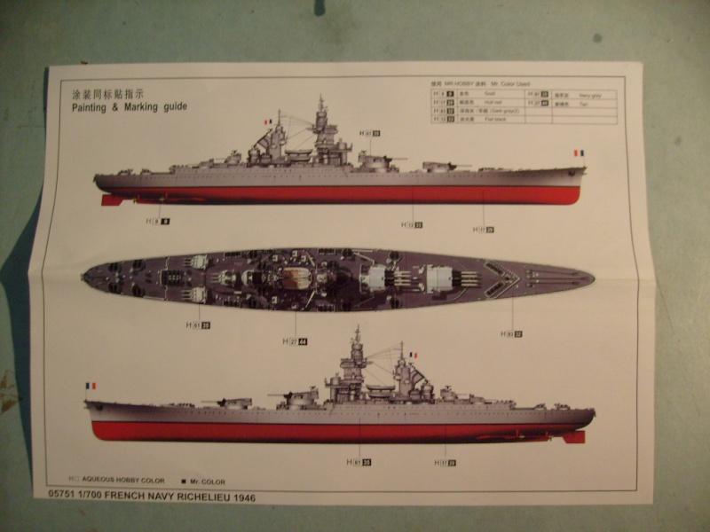 Richelieu 1946 au 700 eme [Trumpeter]  S7304522