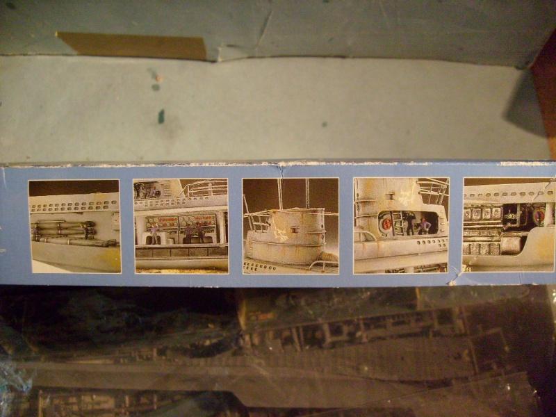 [Revell] U boat U 47 avec interieur au 125 eme S7304656