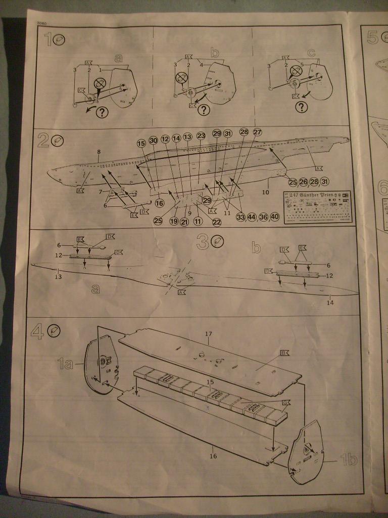 [Revell] U boat U 47 avec interieur au 125 eme S7304663