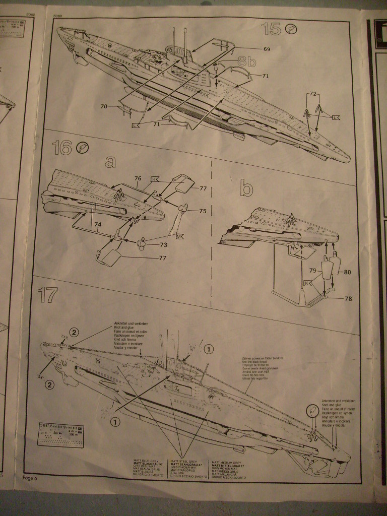 [Revell] U boat U 47 avec interieur au 125 eme S7304667