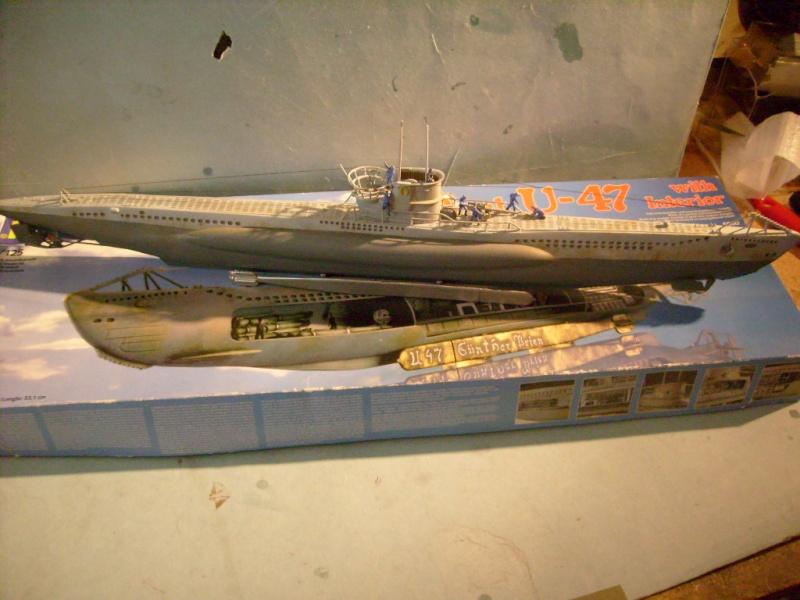 [Revell] U boat U 47 avec interieur au 125 eme S7304668