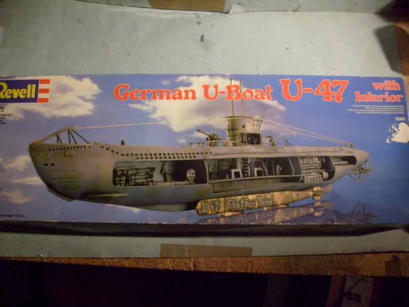 [Revell] U boat U 47 avec interieur au 125 eme S7304713
