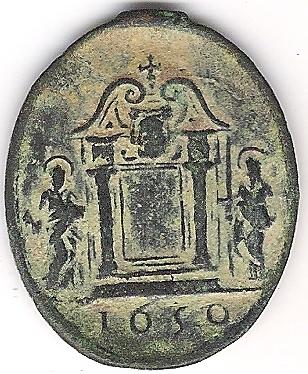 Médaille du jubilé de l'Année Sainte de 1650 à Rome Photo_15