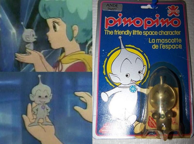 Pino Pino: Bandai 1981 / Creamy Mami Pinopi10