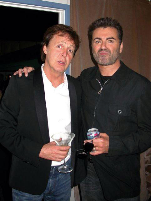 Paul McCartney soutient son pote George Michael Pg10