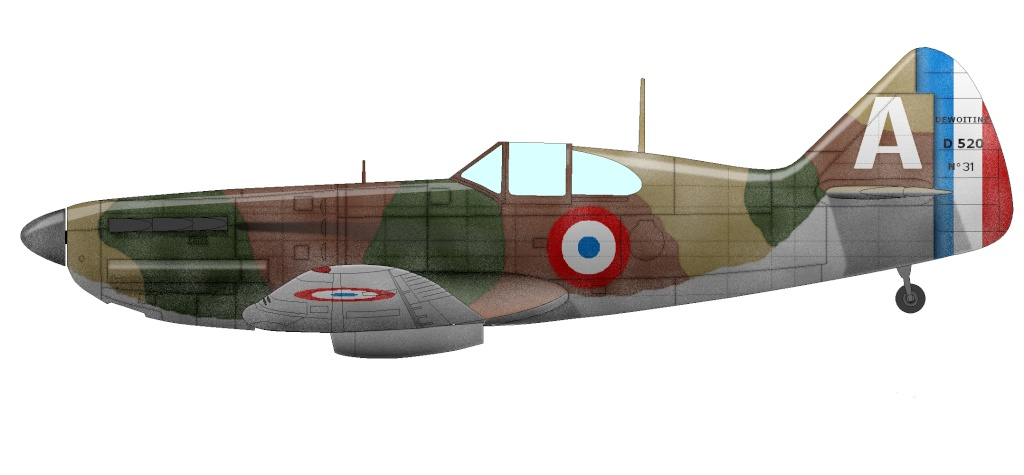 Morane Saulnier MS 406 D520-310