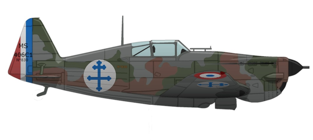Morane Saulnier MS 406 Ms_40616