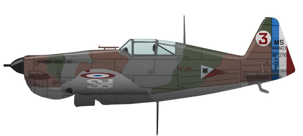 Morane Saulnier MS 406 Ms_40620