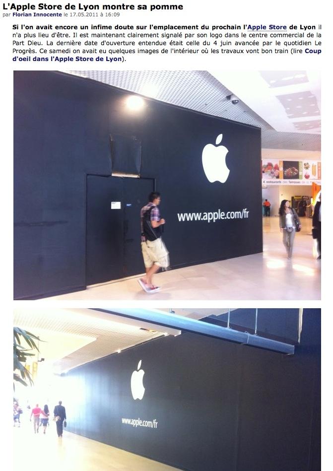 Apple Store à Lyon Captu136