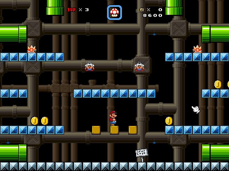 Super Mario Galaxy X: L'invasion des ténèbres Screen10