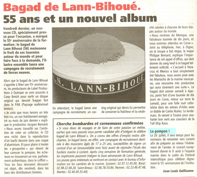 [La musique dans la Marine] Bagad de Lann-Bihoué - Page 3 Lann_b10