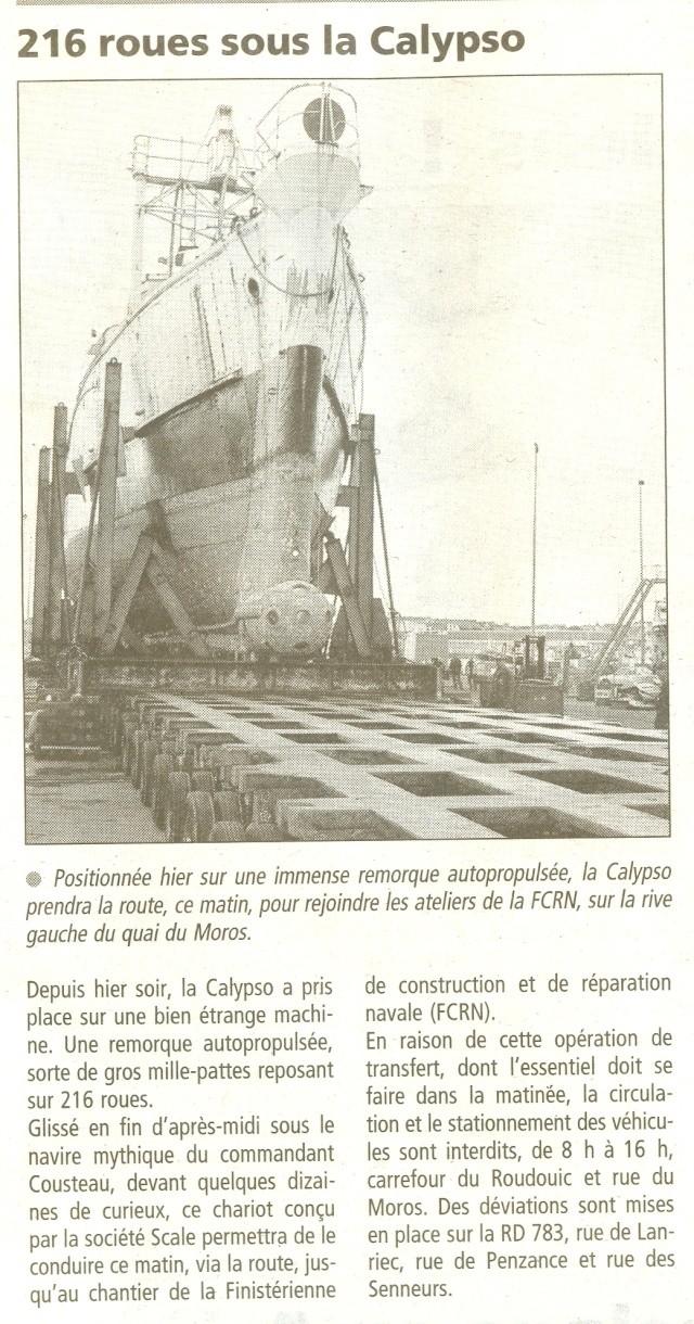 [AUTRES SUJETS DIVERS] LA CALYPSO - Page 5 Numeri31