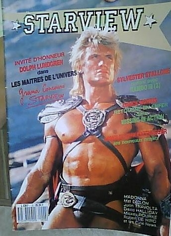 magazine STARVIEW spécial Dolph Lungreen Pictur15
