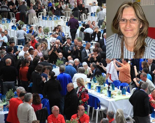 Françoise Chastang à la journée des 1300 bénévoles Fffran10