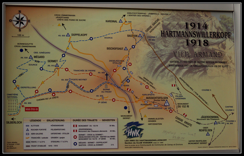 Le Viel-Armand, Hartmannswillerkopf Tablea10