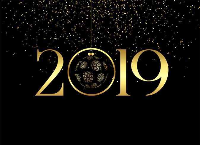Nouvel an 2019 Vector10