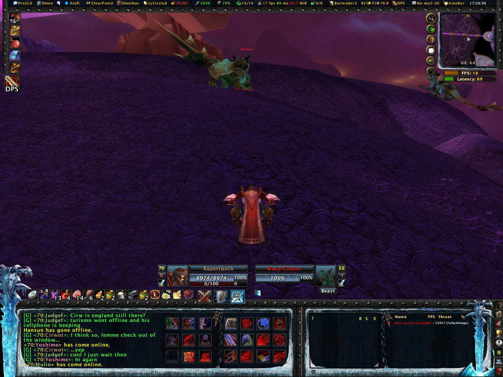 Frostmourne Hungers - The UI Wowscr11