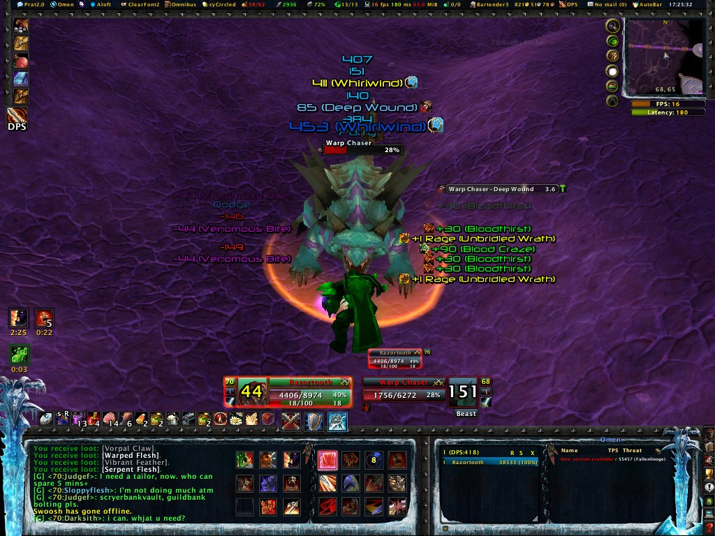 Frostmourne Hungers - The UI Wowscr12