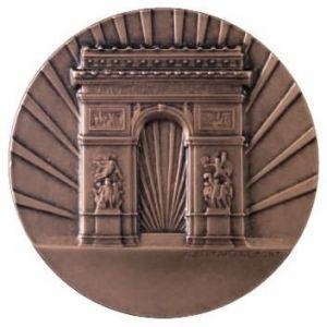 Arcul de triumf de Bucarest spécial Gyruss (Trouvé) 10010010