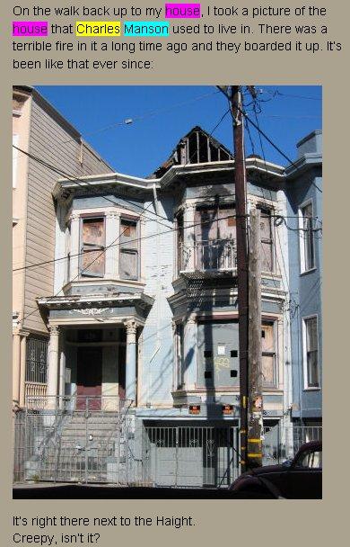 La maison bleue de Charle Manson à San Francisco : Trouvé!! - Page 9 Manson10