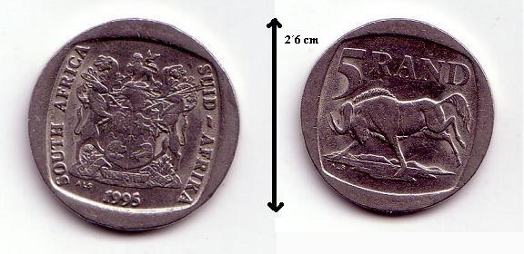 Monedas de Sudafrica Sudafr10