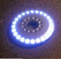 Eclairage annulaire à LEDS pour macro-photo Led210