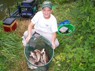 Une partie de pêche avec Jérémy, élève de mon école de pêche Ma_pre23