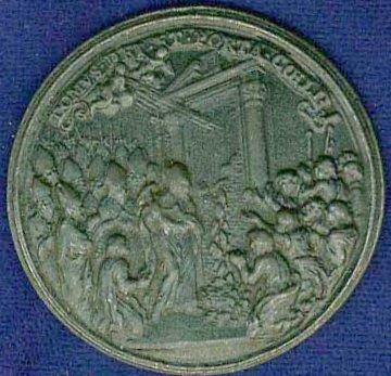 S. Pedro / Puerta Santa - s. XVIII - Jubileo 1725 - Página 2 1725a10